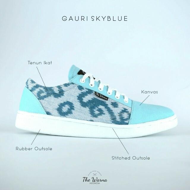 Sneakers Etnik GAURI SKYBLUE