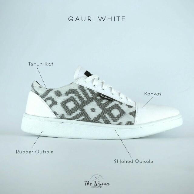 Sneakers Etnik GAURI WHITE