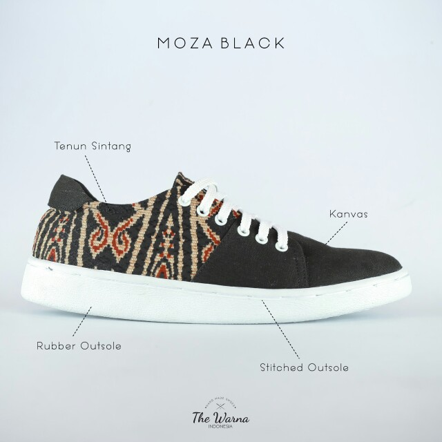 Sneakers Etnik MOZA BLACK