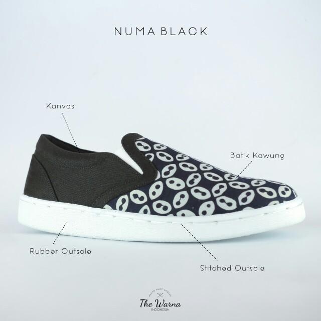 Sneakers Etnik NUMA BLACK