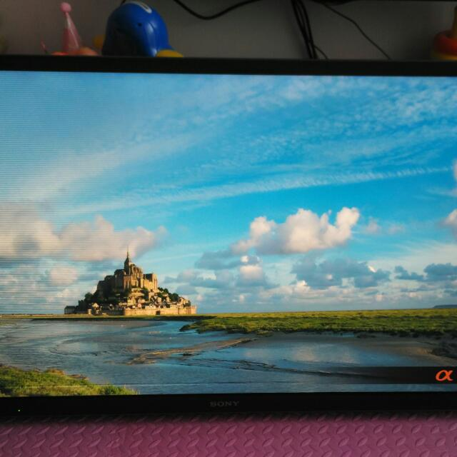 Sony Bravia 46 inch LCD LED TV Television KDL-46ex650 With Display Problem