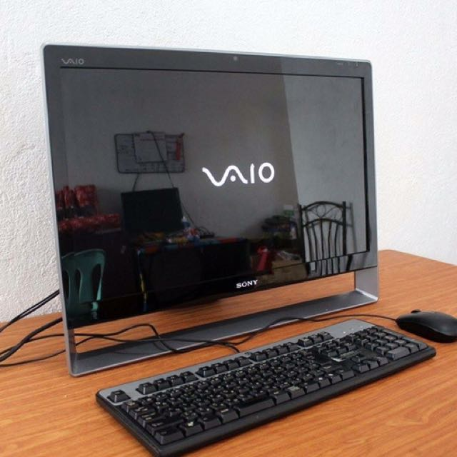 Sony vaio 23 inch all in one pc core2duo free deliver