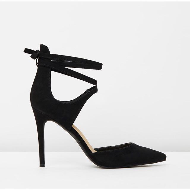 SPURR pointy-toe heels