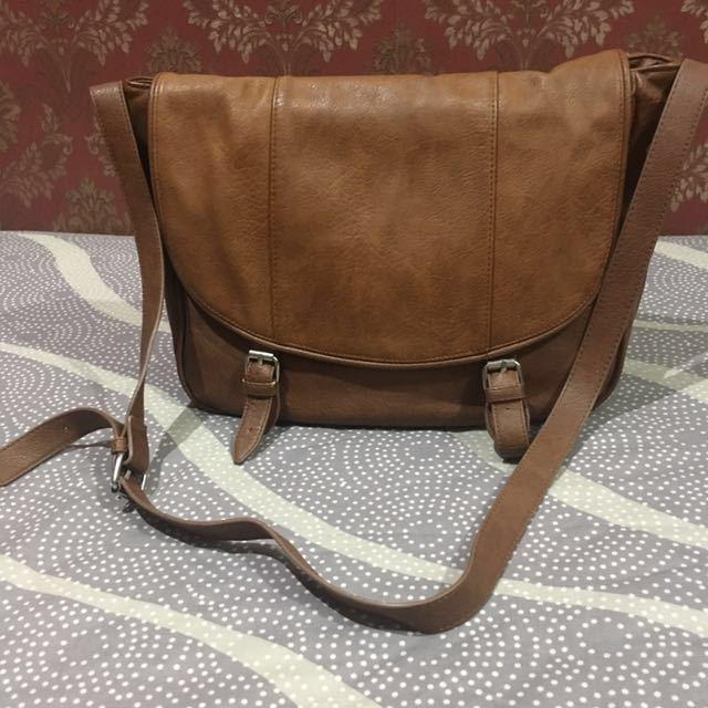 Stradivarius Brown Crossbody Bag