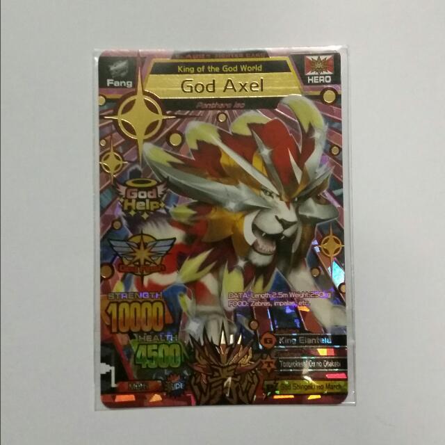 Strong Animal Kaiser M2 Ultra Rare Card, Toys & Games ...