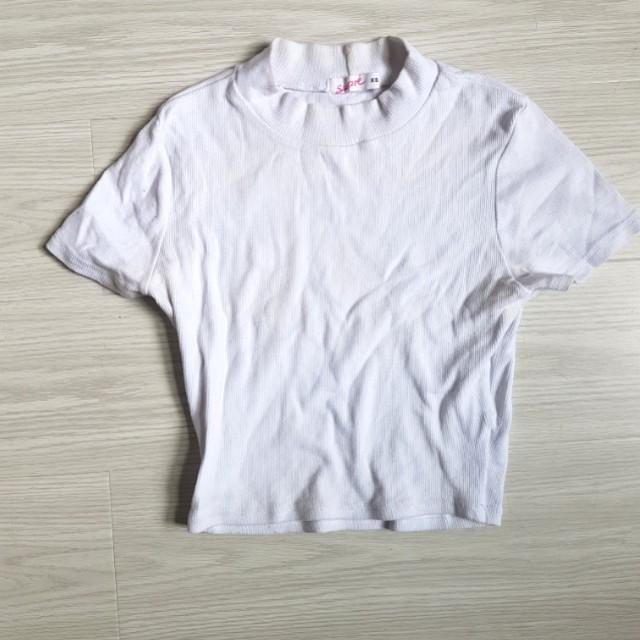 Supre basic high neck tshirt