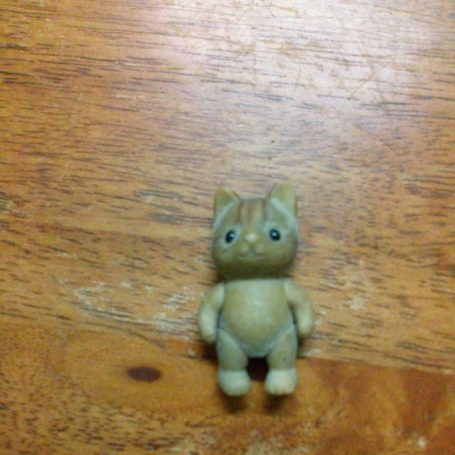Sylvanian Families ~ Stripe Cat Baby