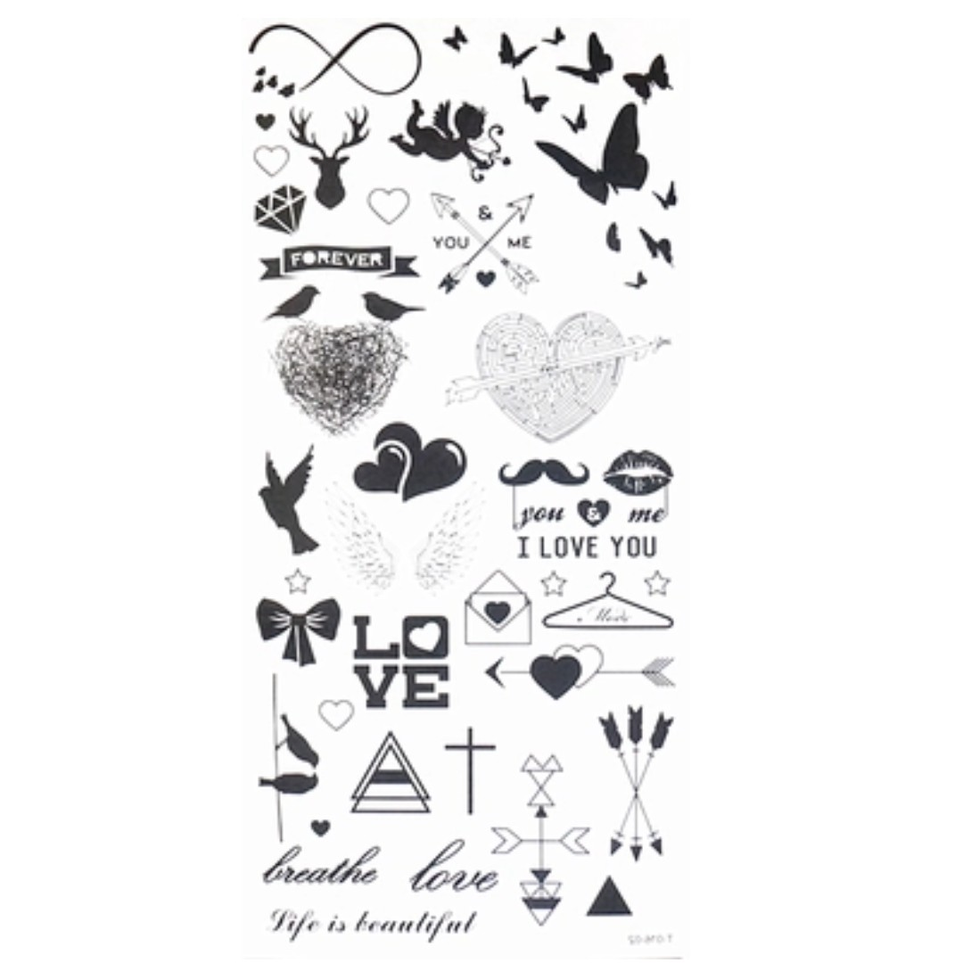 Temporary tattoo cool symbols on carousell temporary tattoo cool symbols biocorpaavc Image collections