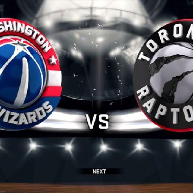 TODAY!! Toronto Raptors vs. Washington Wizards @ Air Canada Center 6:00 PM