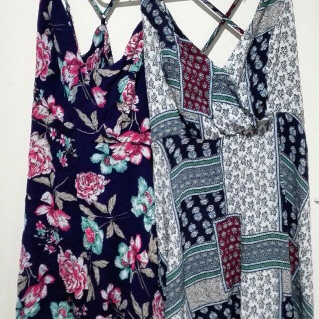 Two beach dresses