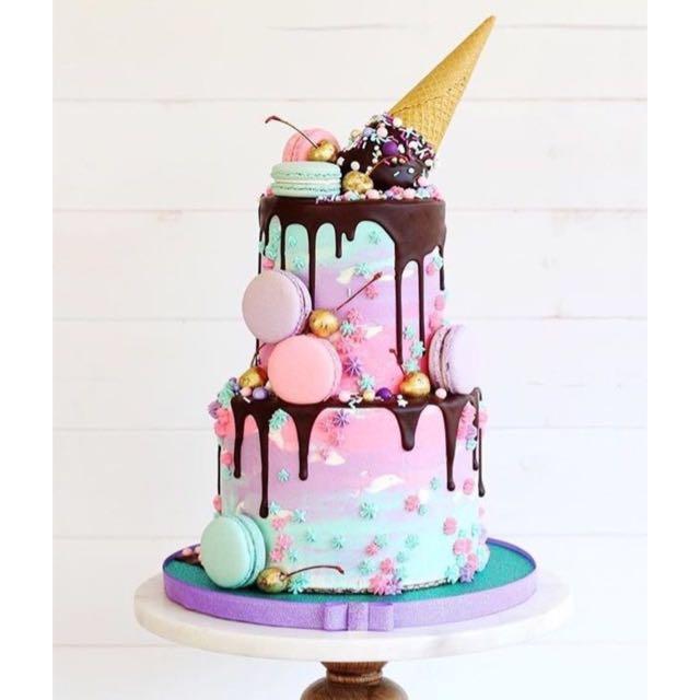 Msic Inspired Birthday Cakes