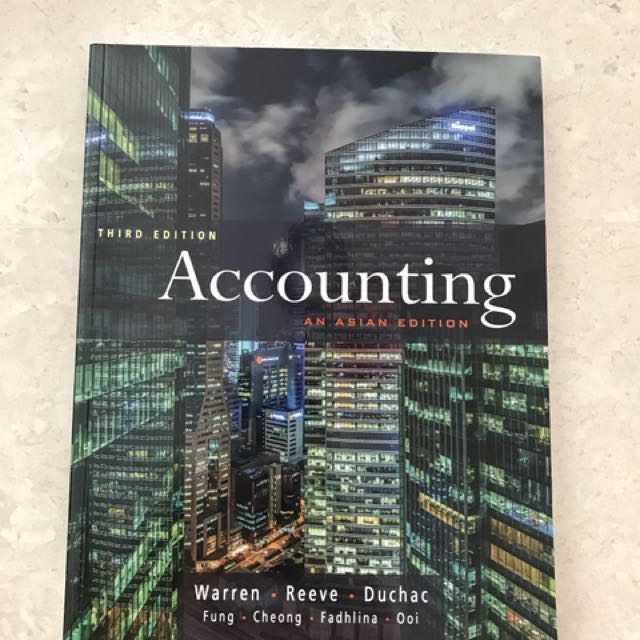 Warren accounting textbook