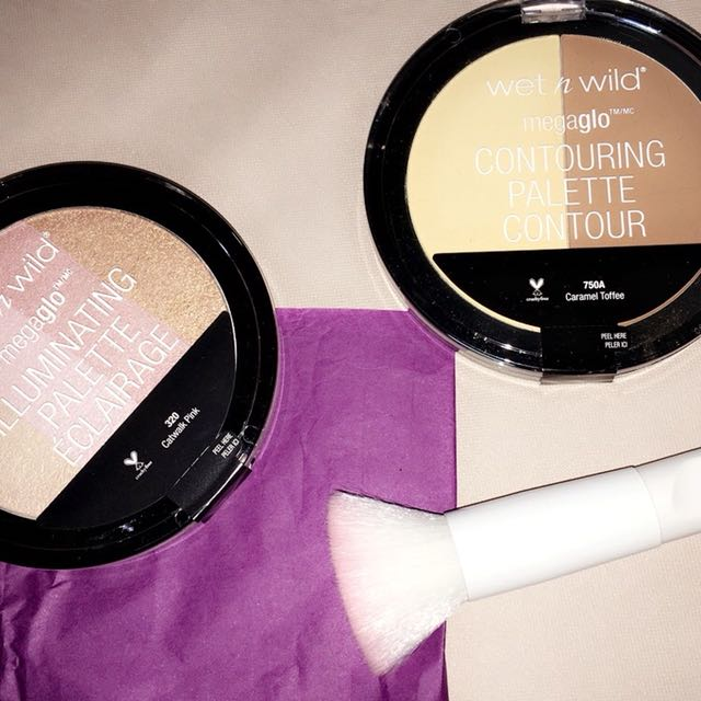 Wet & Wild MegaGlo Contouring and Illuminating Face Palette