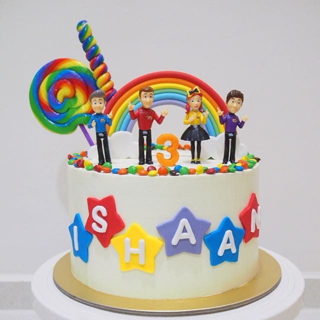 Wiggles Cake Babies Kids On Carousell