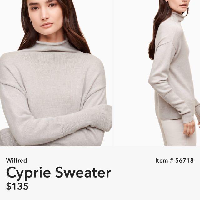 Wilfred Cyprie Sweater- Aritzia