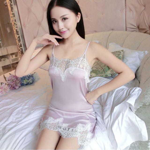 Woman lace lingerie sleepwear