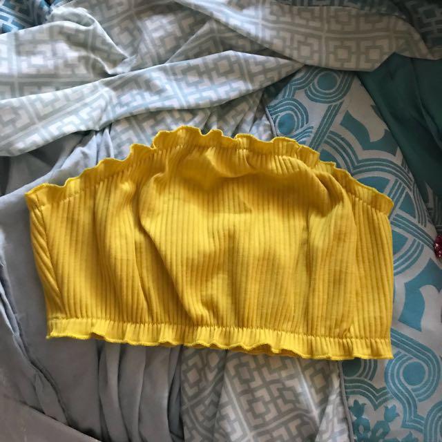 Yellow bandeau