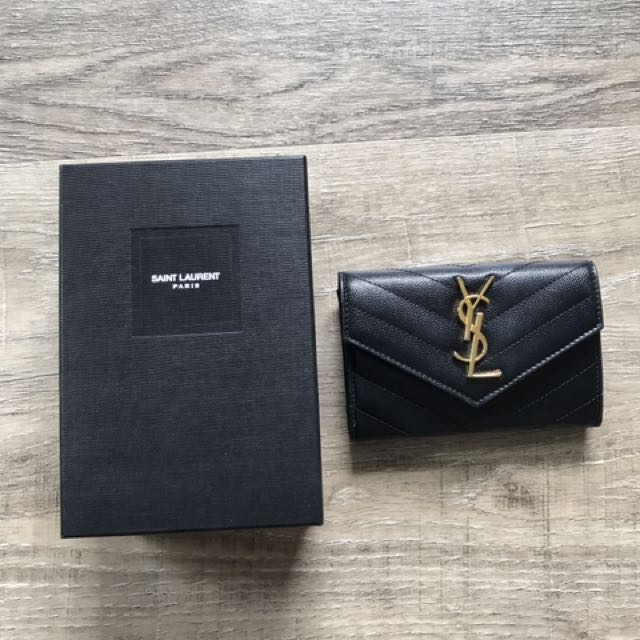 123e5081640b YSL Saint Laurent Compact Wallet   Small coin purse