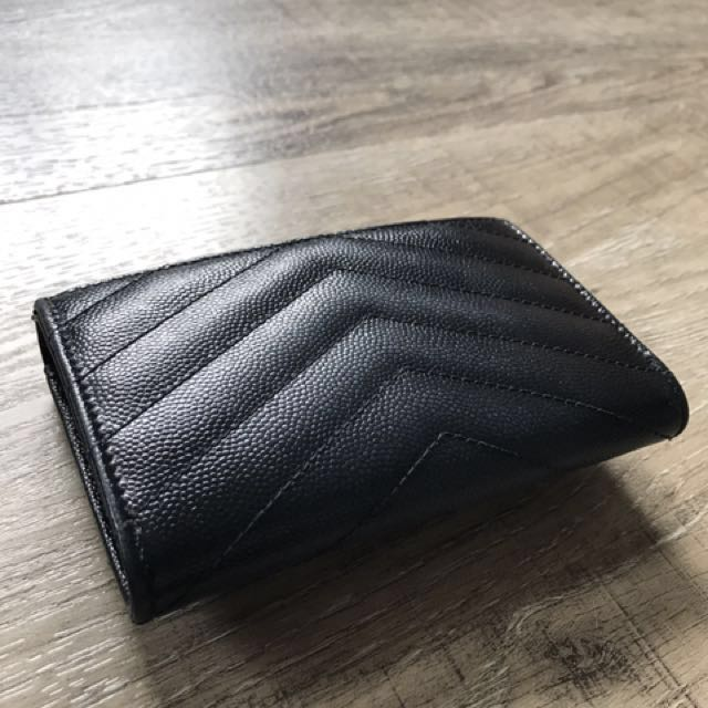 f006ac31c44a5 YSL Saint Laurent Compact Wallet   Small coin purse