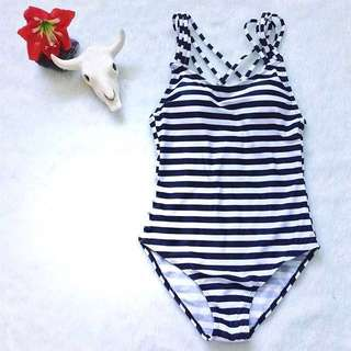 REPRICED Stripes One Piece Swimsuit