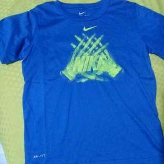 Authentic Over Run Nike Dri Fit Shirt
