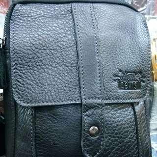 Tas levis kulit asli tas selempang pria wanita