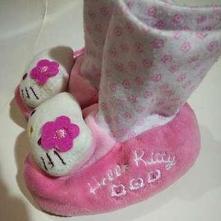 Hellp kitty baby socks
