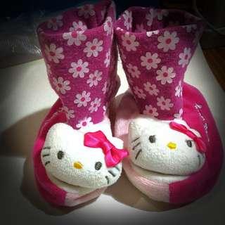 Hello kitty baby socks