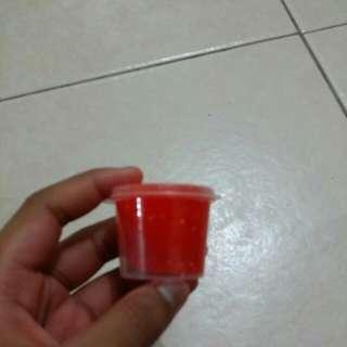 orange slime