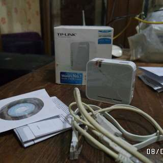 TP-Link Portable 3G/4G Wireless & Router TL-MR3020