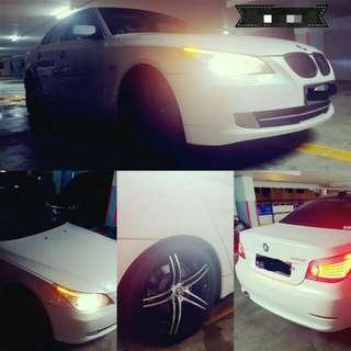 Beautiful BMW 5 series Uber N Grab