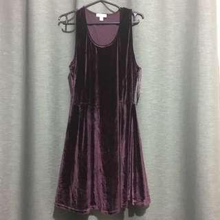 Cotton On Velvet dress