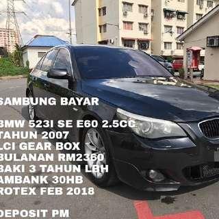 BMW 523I SE E60