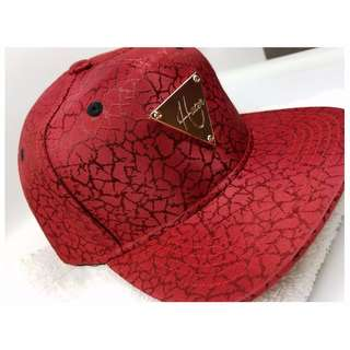 Hater Jacquard Snapback Elephant Print RED (Authentic)