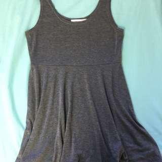 Grey basic dress