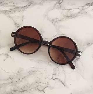 Dior round sunglasses