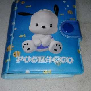 Pochaco card holder original sanrio japan