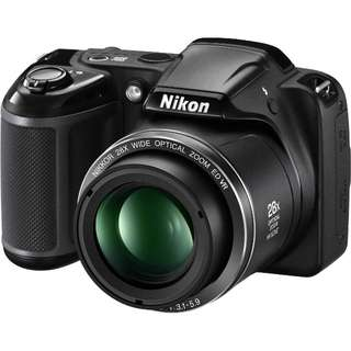 Nikon Coolpix L340 ( black) with accessories