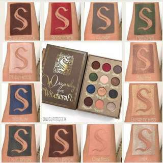 Storybook Cosmetics Wizardry and Witchcraft Eyeshadow Palette Storybook