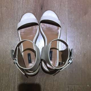 MNG White sandals