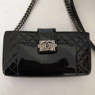Chanel small wallet with chain