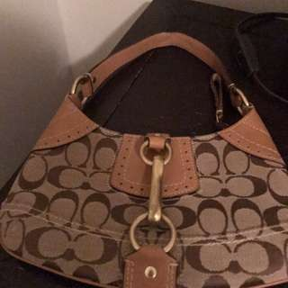 Coach Purse - REAL leather!