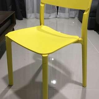 Sturdy Ikea Janinge Chair Yellow