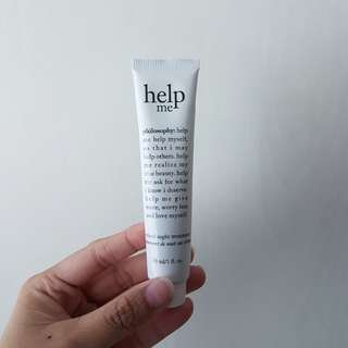 *SPECIAL PROMO* philosophy (USA brand) - Help me retinol night treatment