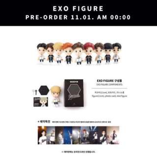 [Pre-Order] EXO SMTOWN COEX Artium SUM OFFICIAL GOODS FIGURE + PHOTOCARD + PHOTO NEW