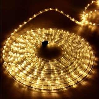 Christmas LED Rope Light - Warm White SKU: XMAS-ROPE-30M-WARM