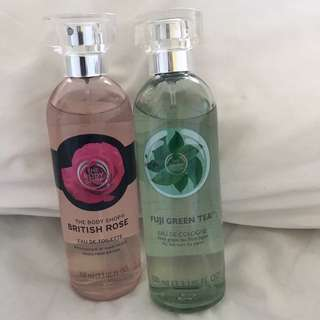 The body shop scents