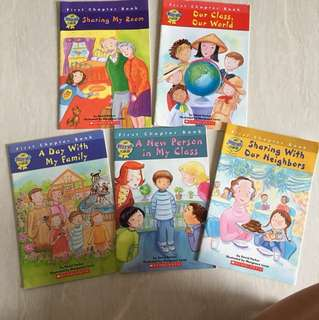 Scholastic The Best I Can be books bundle
