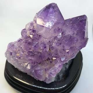 Amethyst Crystal Deco
