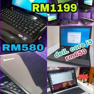 Many laptop